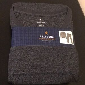 Other - Stanford 2 pc sleep set waffle knit